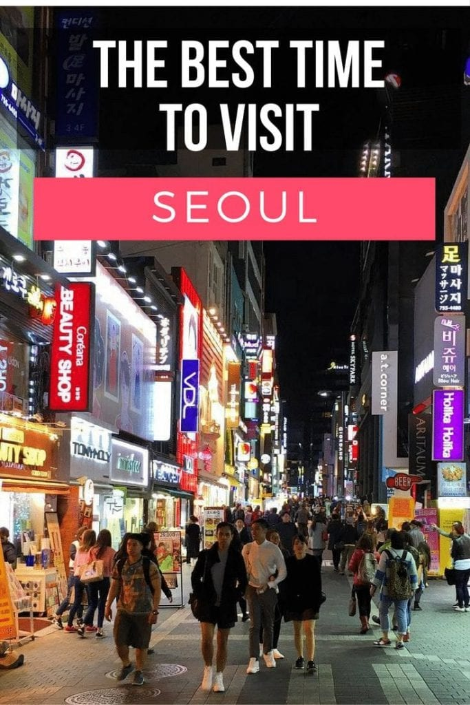 The best time to visit Seoul